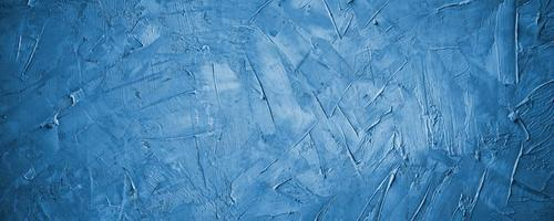 dark blue cement or navy concreate texture wall background photo
