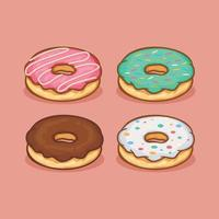 donut Icon isolated Vector illustration