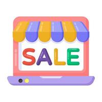 Shopping Sale and Labels vector