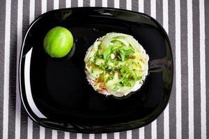 Vitamin salad healthy photo