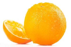 Ripe tasty orange photo