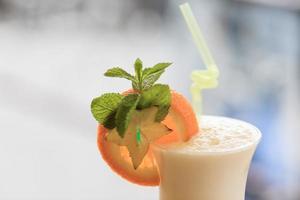 delicious Milk cocktail photo