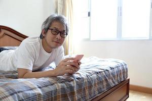 Relax Asian Man photo