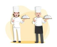 Chef Vector Illustration Design, Professional Chef