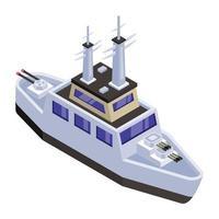 Battleship and Warships vector