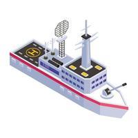 Cruise Liner Ship vector