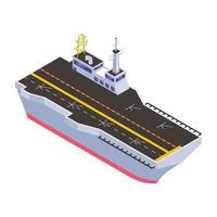 barco de combate y fragatas vector