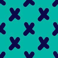 Modern Cross Seamless Repeat Pattern vector