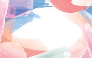 fondo de acuarela colorido moderno vector