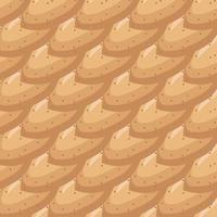 Ilustración sobre tema patrón grande tipos idénticos almendra vector