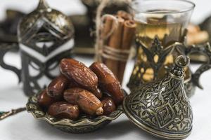 Ramadan concept with dates. High quality beautiful photo concept