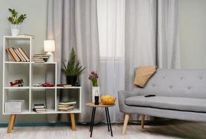 diseño de interiores de habitaciones. concepto de foto hermosa de alta calidad