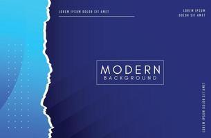 Elegant blue background design template. vector