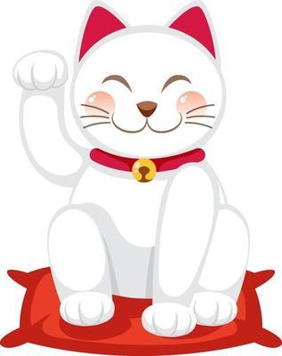 Free Lucky Cat Vector Art
