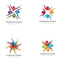 Community People Logo Template vector