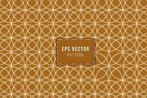 brown pattern seamless background cream khaki glow back ground batik vector