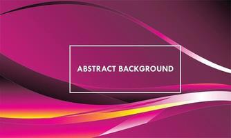Fondo abstracto magenta con ondas vector