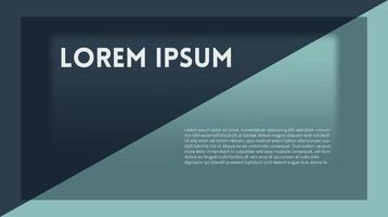 mimimalist elegant web template vector