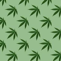 cáñamo o cannabis deja patrones sin fisuras. foto