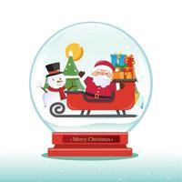 Christmas globe vector, Christmas decoration vector