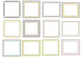 Vector Collection of Hand Drawn Doodle Frames