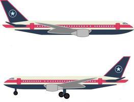 Airplane vector design