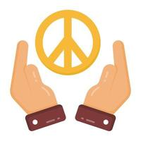 Peace and Care vector