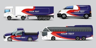Vector car identity template design set. Branding mock up