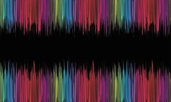 colorful equalizer background vector