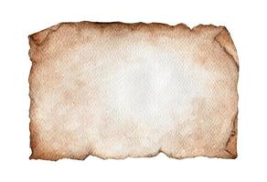 Watercolor painting of Vintage background with old paper. vector