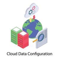 configuración de datos globales vector