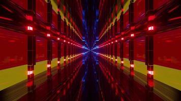 Futuristic Neon Design with German Flag video