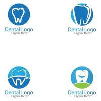 Dental logo and symbol vector