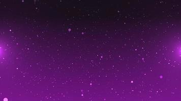 Purple Particle Background with Flare on The Side video