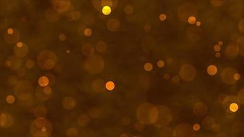 Gold Particle Glitter Background Concept video