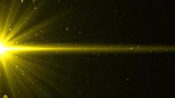 Gold Particle Flare Background for Background Concept video