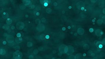 Green Particle Glitter Background Concept video