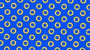 Circular maze pattern motion background video