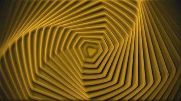 Yellow spiral waves free motion background video