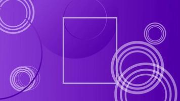 vacker lila geometrisk modern minimal rörelsebakgrundsvideo video