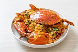 Stir Fried Crab with Curry Powder photo