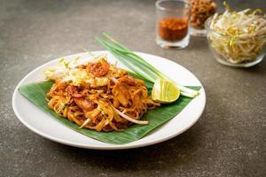 Pad Thai - stir-fried rice noodles photo