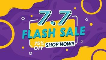 Discount, Flash Sale and offer shopping bacground template banner vector