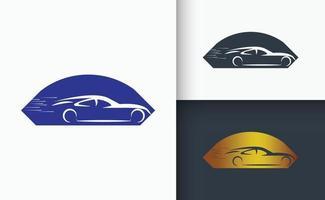 Car Logo design Template set vector