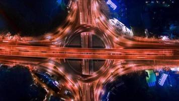 Luftautobahn mit Transportverkehr video