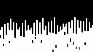 White Fluid with Black Droplets video