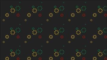 Fireworks on The Dark Background video
