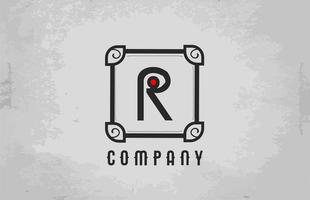 Alphabet letter icon logo design. Company and business template vector