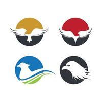Eagle logo images vector