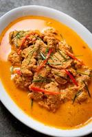 Thai Meal Kit Panang curry with pork - Thai food style photo